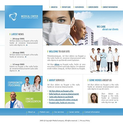 Medical Web Design, Dental Health Web Design | eMarketers